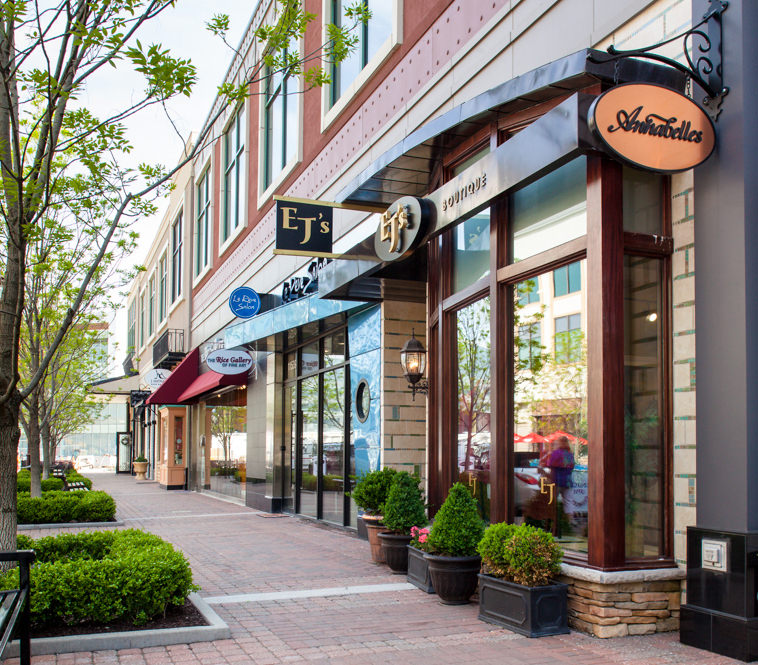 <strong>Park Place Development Storefronts<br/>Leawood, Kansas</strong><br/>